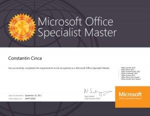 Master Office 2013 Cristi